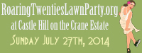Raring Twenties Lawn Party at Castle Hill on the Crane Estatne